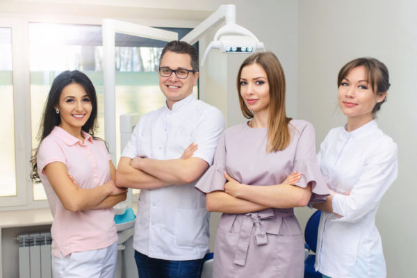 Getting to know the members of a dental care team